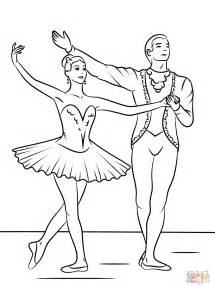 Printable Ballet Coloring Pages sketch template