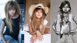 young model, others are cringing over the oversexualized little girl