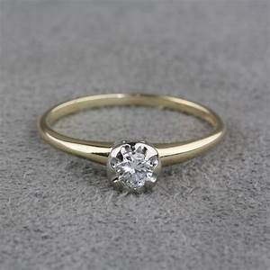 pre owned vintage diamond engagement ring With jewelry wedding rings