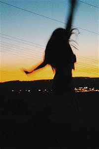 silhouettes #camera #photography #girl #pretty #sunset #co ...