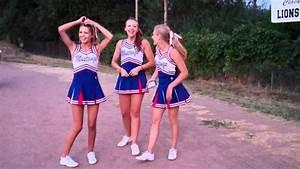Teen cheer babes video