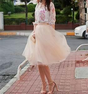 la jupe en tulle rose parfaite pour un mariage robe With robe mariage nude