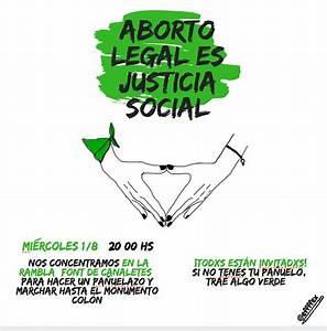 01  08    Concentraci U00f3 A La Font De Canaletes Per La Campa U00f1a Argentina  U0026 39 Aborto Legal Es Justicia