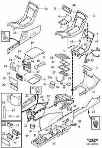 Volvo S80 Console Trim Panel  Code  Interior  Tunnel