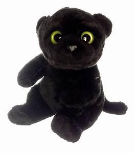 Kuscheltier Mit Großen Augen : schwarzer panther mit gro en augen 16cm pl schtier kuscheltier ~ Watch28wear.com Haus und Dekorationen