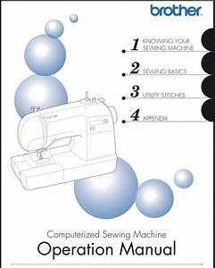 Brother Sb700t Sewing Machine Manual User Guide Color Copy