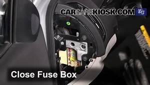 Interior Fuse Box Location  2007-2013 Kia Ceed
