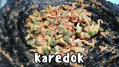 Resep nasi timbel ikan goreng khas sunda. Resep Karedok Kacang Panjang Khas Sunda - YouTube