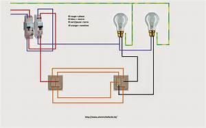Installer un va et vient double for Quelle couleur avec le bleu 7 schema electrique le raccordement de 3 interrupteurs va