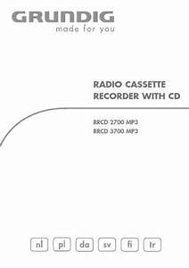 Grundig Rrcd 2700 Mp3 Hifi System Download Manual For Free