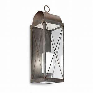 Lanterne Exterieur A Poser : lanterne de jardin murale avec bougie il fanale ~ Dailycaller-alerts.com Idées de Décoration