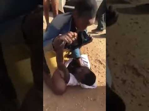 But they have been in the fight. Woman vs man fight 👊 - YouTube