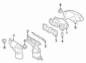 Ford Escape Shield  Heat  Exhaust  Manifold  Converter  3