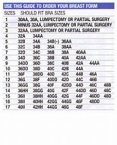 Amoena Breast Form Sizing Chart Size Charts