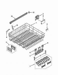 Kitchenaid Kude20ixss8 Dishwasher Parts