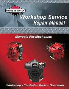 Briggs And Stratton Manuals For Mechanics
