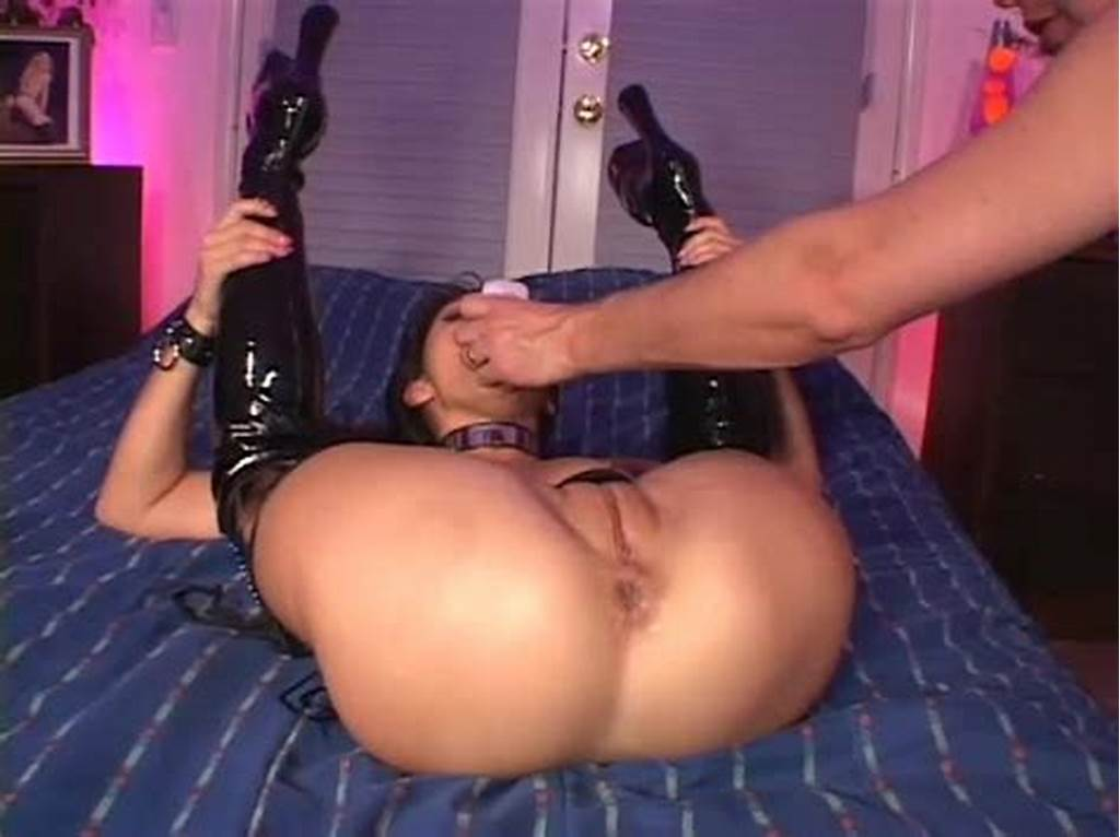 #Brunette #In #Thigh #High #Boots #Gets #Fucked #Hard #And #Deep