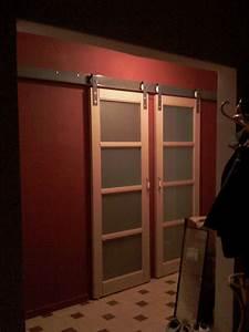 Comment Monter Une Porte Coulissante : double porte coulissante japonaise ~ Melissatoandfro.com Idées de Décoration