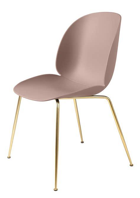 pied de chaise dans la chatte chaise beetle gamfratesi plastique pieds laiton