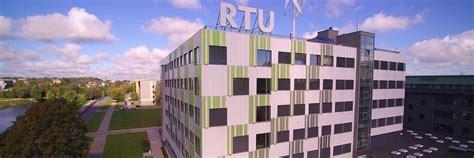 RTU piedāvā jaunas studiju programmas | Rīgas Tehniskā ...