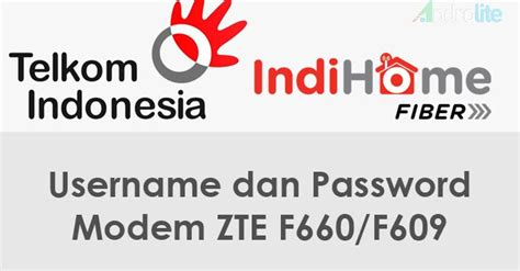 Melihat username password admin modem zte f660, f609. Password Telkom Indihome ZTE F660/F609 Terbaru 2019 - AndroLite.com