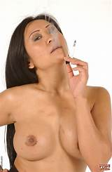 Big tit asians smoking cigarettes