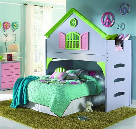 Create Your Daughters Dream Room With Our Doll House Loft
