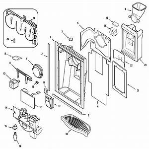Fountain  Msd2732grs  Diagram  U0026 Parts List For Model Msd2732grs Maytag