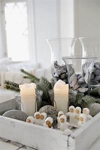 Living, Room, Christmas, Decorations