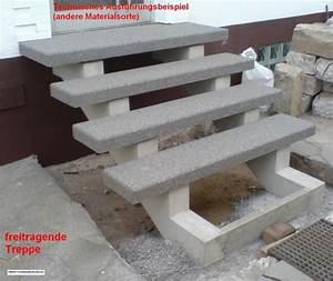 Treppenstufen Außen Beton : ausf hrungsbeispiel freitragende treppe treppenwangen sichtbeton stufen granit beton ~ A.2002-acura-tl-radio.info Haus und Dekorationen