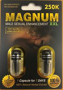 Magnum 250k Xxl Male Sexual Supplement Enhancement Pill