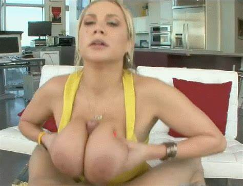 Blond Student Sexy Bouncing Giant Meat
