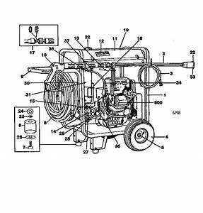 919 763010 Craftsman 9 Hp 3000 Psi 3 Gpm High Pressure Washer