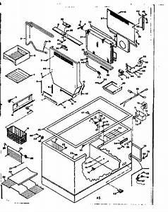 Kenmore 198616680 Chest Freezer Parts