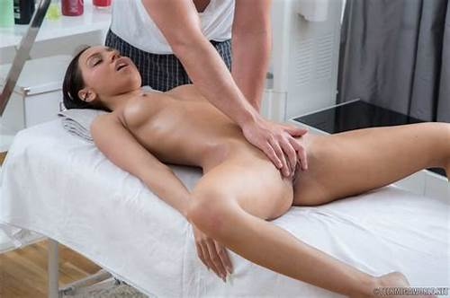 Massage Stud Licks Pussy And Fuck Fucked #Teen #Gets #Her #Tight #Pussy #Fucked #By #The #Masseur