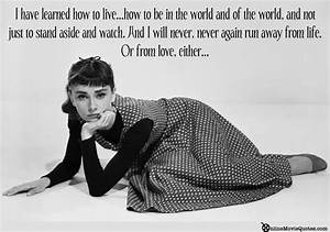 Audrey Hepburn Movie Quotes. QuotesGram