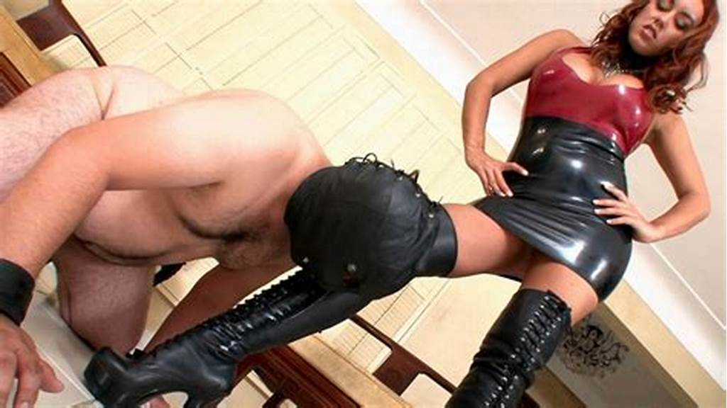 #Leather #Boots #Licking