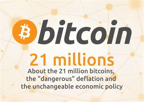 """One explanation for the 21 million bitcoin limit is the money supply replacement theory. About the 21 million bitcoins, the """"dangerous"""" deflation and the unchangeable economic policy ..."""