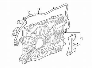 Chevrolet Malibu Engine Cooling Fan Assembly  2 0 Liter