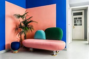 Vivid, Colours, And, Upholstered, Furniture, Define, Masquespacio, U0026, 39, S, New, Workplace