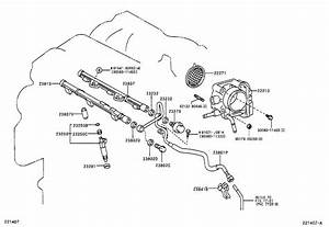 Toyota Camry Support  Fuel Pipe  Spec  California  System