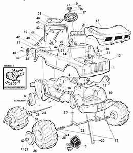 Power Wheels Snake Bite Parts