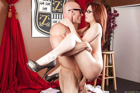 Passionate Red Hair Tiny Porn And Facials