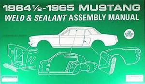 1964 1  2 Ford Mustang Wiring Diagram Manual Reprint