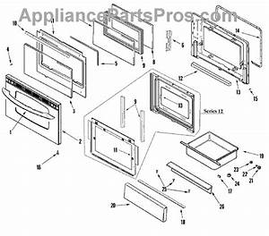 Parts For Maytag Merh752cas  Door    Drawer  Stl  Parts