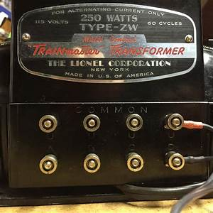 Garage Sale Find  Lionel Zw 250 Watts