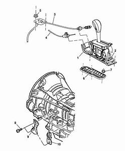 2002 Jeep Liberty Gearshift Controls Of Automatic Transmission