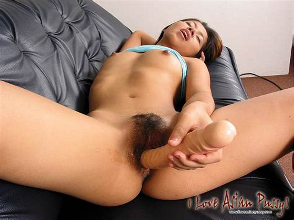 #Hot #Thai #Girl #Enjoy #Dildo #Fucking #In #Her #Hairy #Twat #On