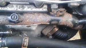 Front Water  Coolant Pipe Removal Vauxhall Zafira B  1