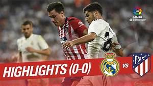 Resumen de Real Madrid vs Atlético de Madrid (0-0) - YouTube  Real